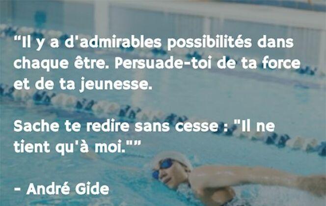 André Gide © Coach Nage - Guide-Piscine.fr