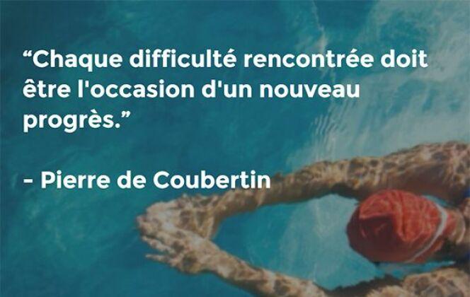 Pierre de Coubertin © Coach Nage - Guide-Piscine.fr