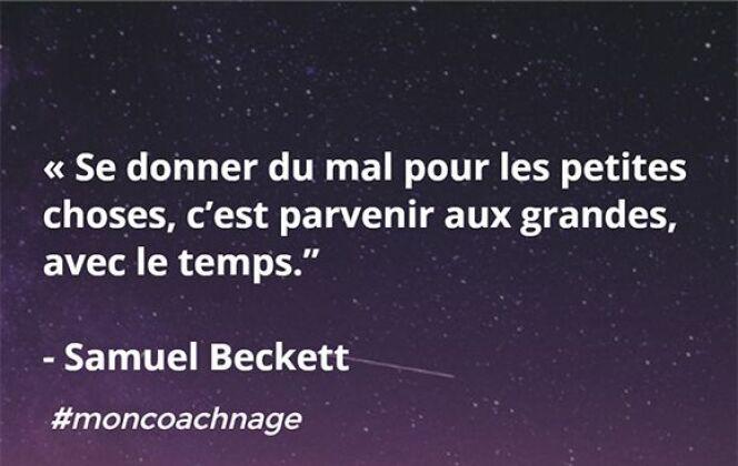 Samuel Beckett © Coach Nage - Guide-Piscine.fr