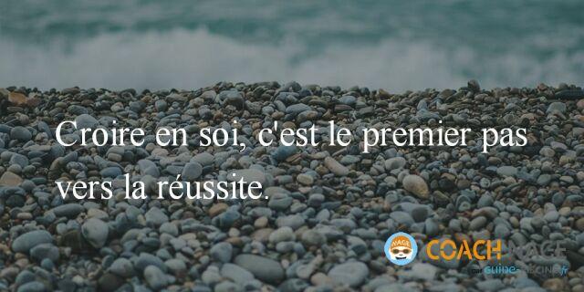 Citation Natation Croire En Soi C Est Le Premier Pas Vers