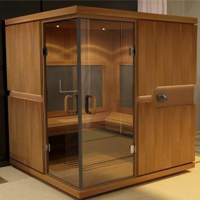 Un sauna à infrarouge élégant et performant