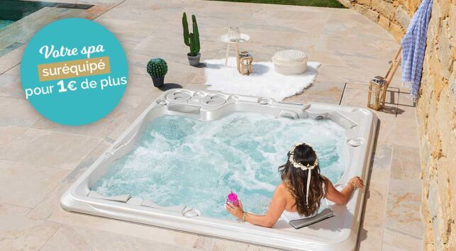 Clairazur : votre spa suréquipé pour 1€ de plus