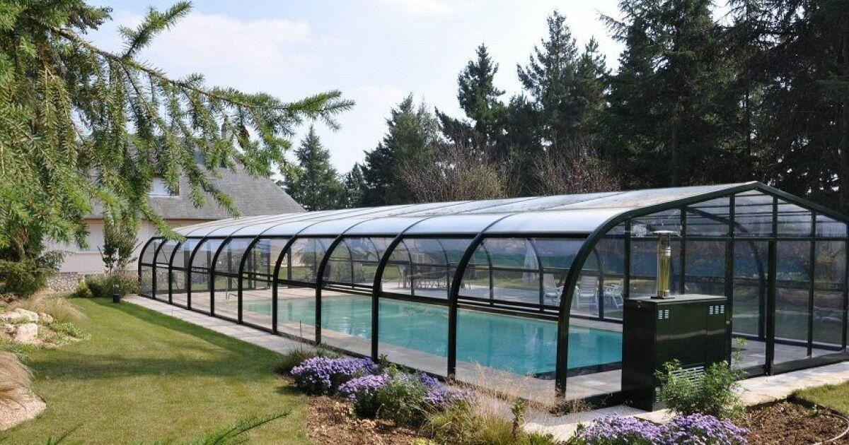 Climabris votre abri de piscine bonne temp rature for Chauffage abri piscine