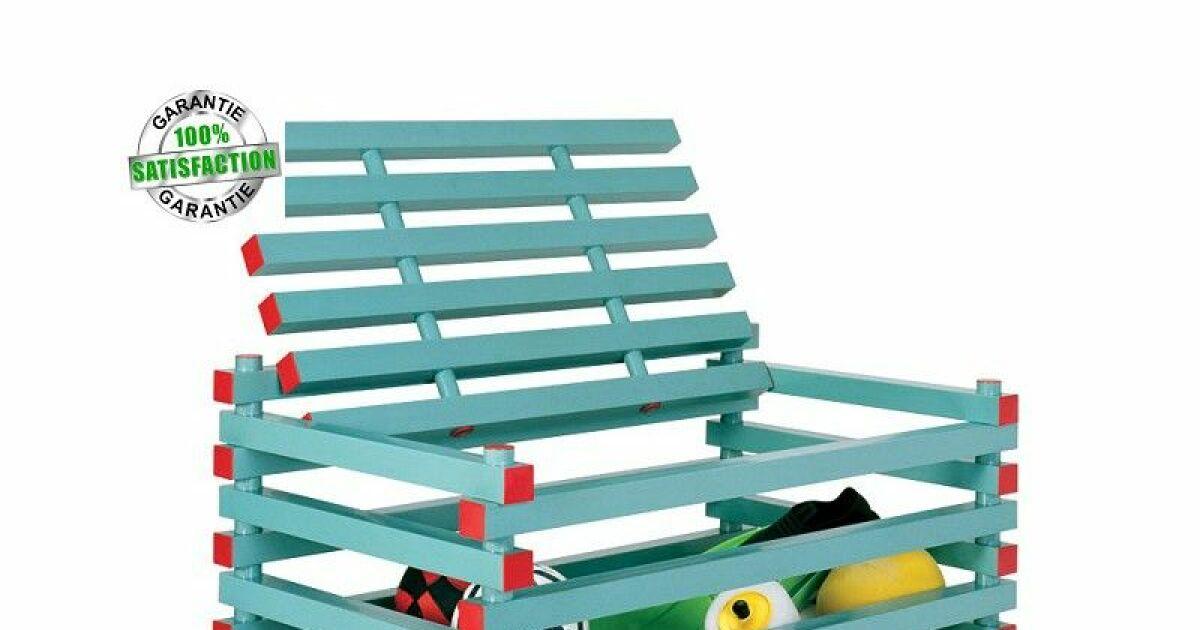 mobilier de rangement pour votre piscine acheter aquagyms coffre de rangement pour. Black Bedroom Furniture Sets. Home Design Ideas
