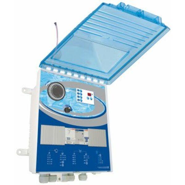 Coffret de piscine multifonctions elysa pro for Coffret piscine