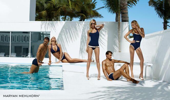 Collection Yacht Heritage : maillots de bain marin-chic pour l'homme et  la femme