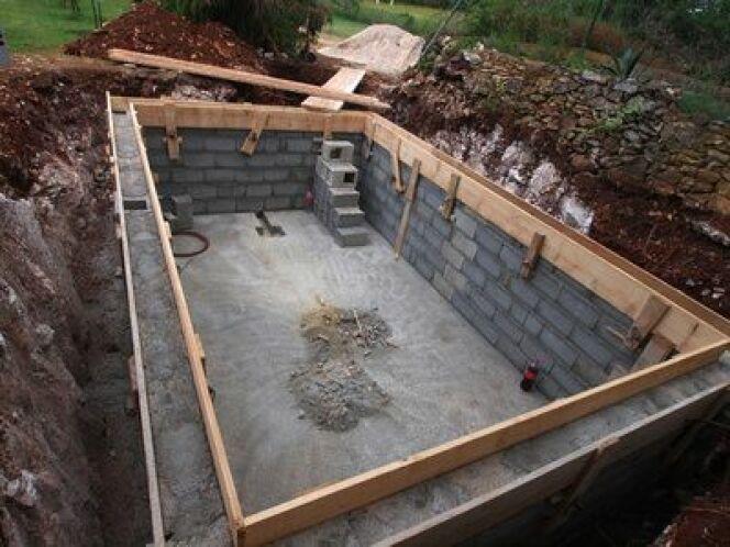 Combien de temps faut-il pour construire une piscine ?