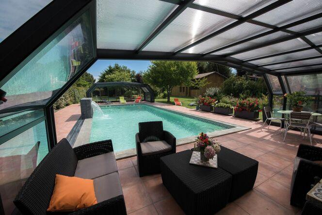 Abri de piscine - Abri Quintessenz haut