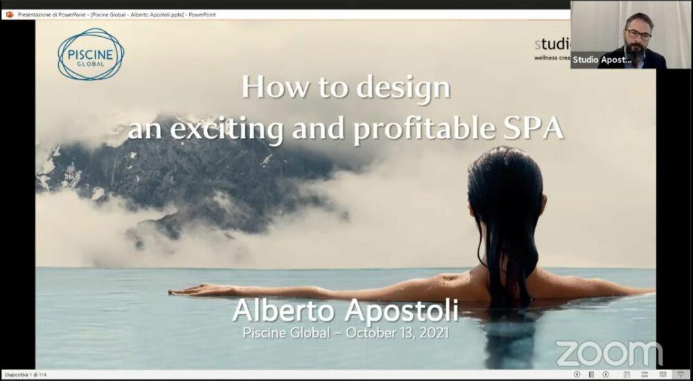Alberto Apostoli - Comment concevoir un spa passionnant et rentable© Studio Apostoli