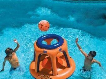 Comment jouer au basket-ball dans sa piscine ?
