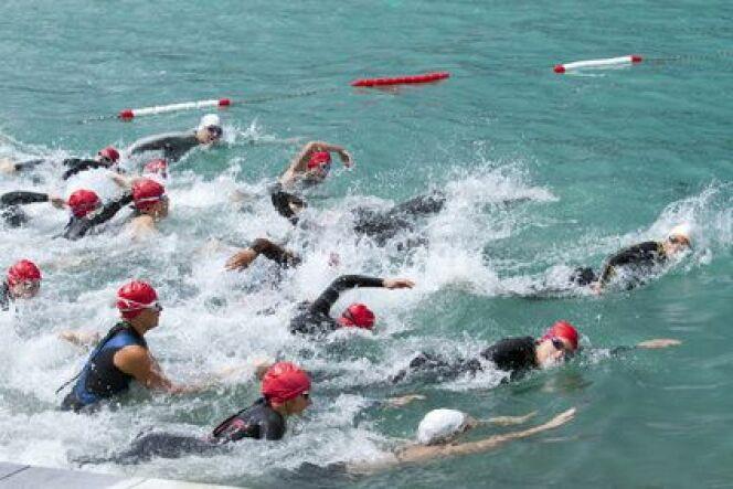 """Comment participer à des épreuves de nage en eau libre ?<span class=""""normal italic petit"""">© awfoto - Fotolia</span>"""