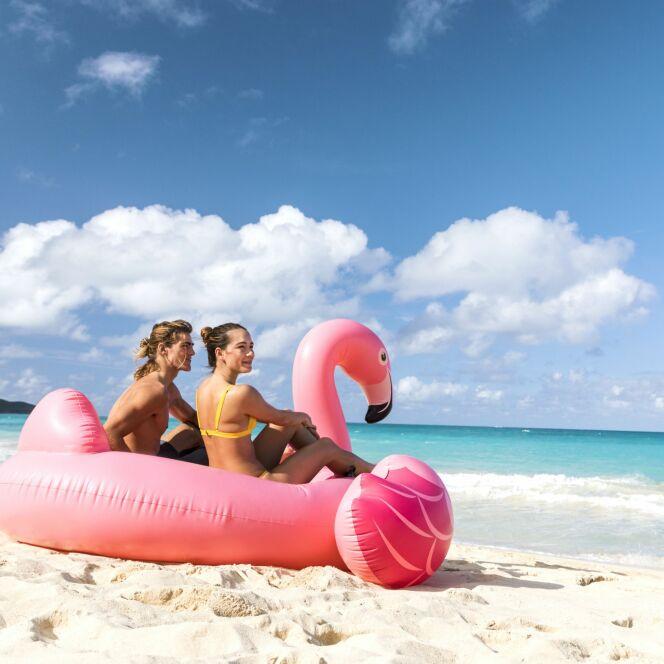 Concours Guide-Piscine et Intex : gagnez votre bouée flamant rose