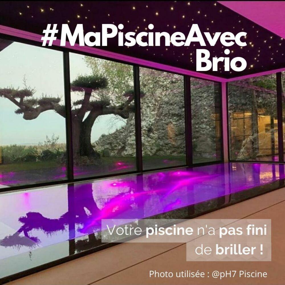 """Concours photo """"Ma piscine avec BRIO"""", organisé par CCEI.© CCEI"""