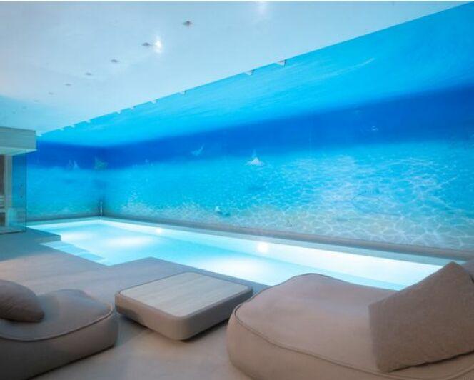 """Concours Pool Vision : les plus belles piscines récompensées à Piscine Global !<span class=""""normal italic petit"""">© M. Holger Mauerer (Holger Mauerer Architekt BDA BSW) - projet « Deep Blue » (Allemagne)</span>"""