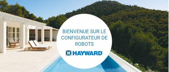 Configurateur de robots de piscine, par Hayward
