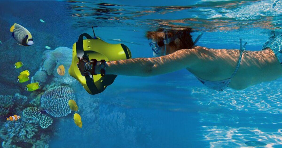 Console interactive aquatique dolphyn par virtualdive - Autour de la piscine photo villeurbanne ...