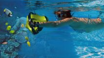 Console interactive aquatique Dolphyn par VirtualDive