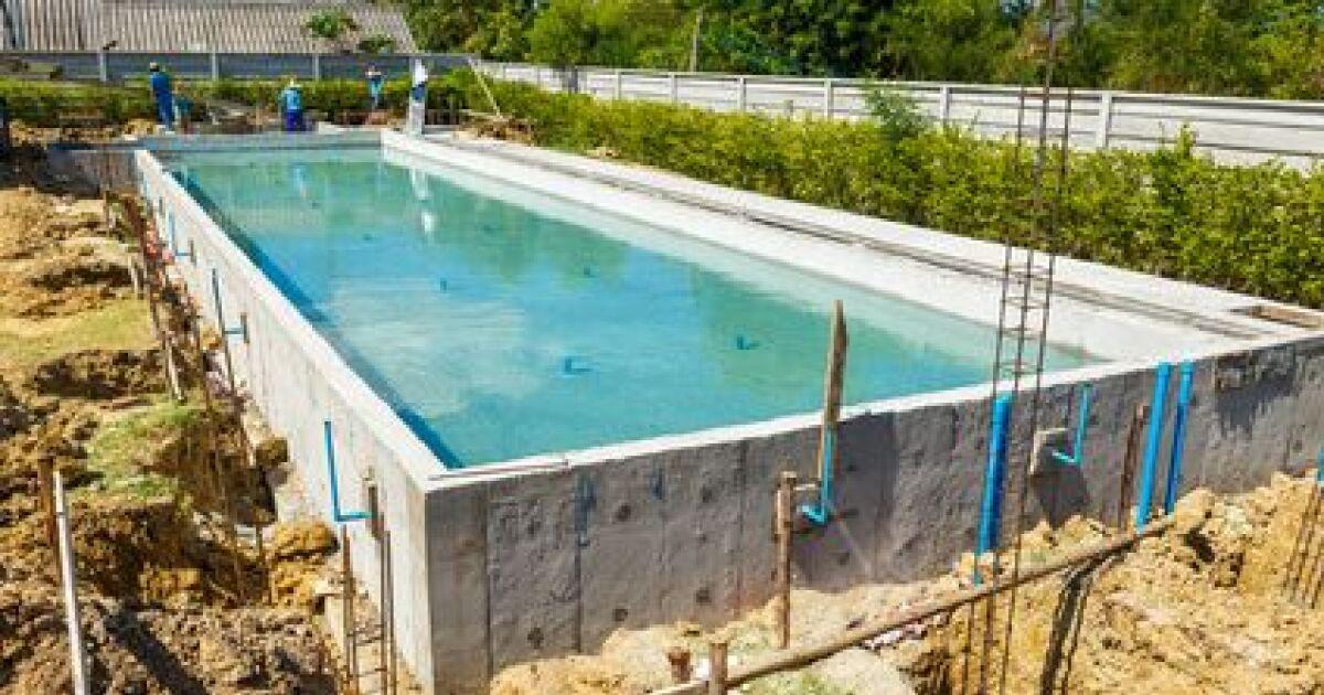 Construction d un couloir de nage for Guide construction piscine