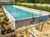 Construction d'un couloir de nage