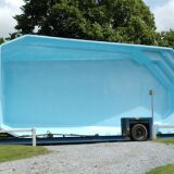 Construction / Installation d'une piscine structure monocoque