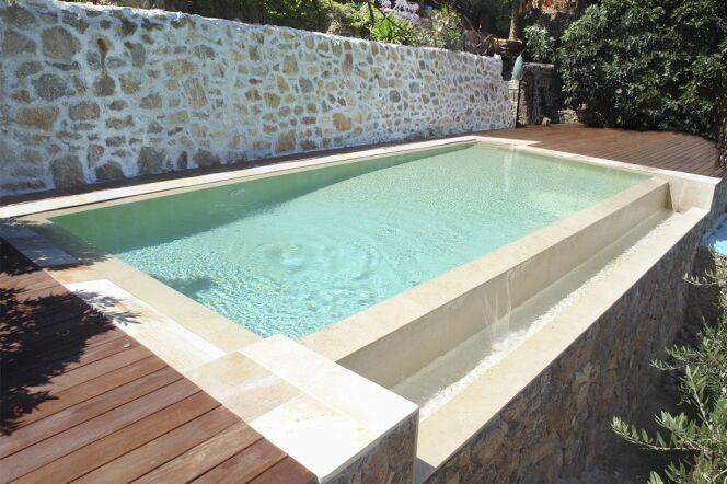 Construire une piscine sur un sol en restanque - Construire une piscine interieure ...