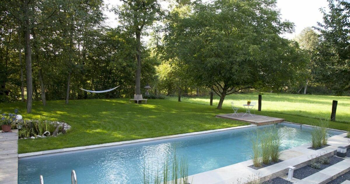 reportage photos piscines naturelles cologiques ou biologiques couloir de nage biotop. Black Bedroom Furniture Sets. Home Design Ideas