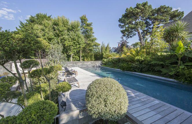 couloir de nage l 39 esprit piscine piscine enterr e l. Black Bedroom Furniture Sets. Home Design Ideas