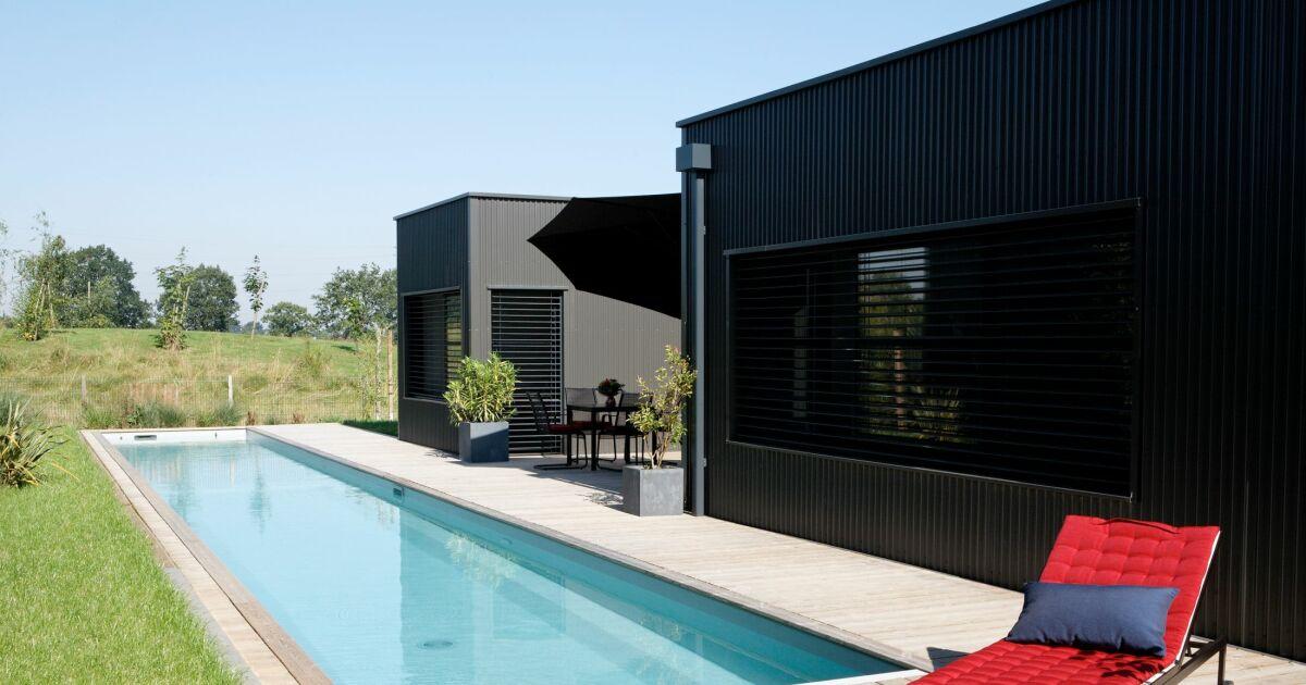 couloir de nage caron piscines piscine enterr e caron piscines. Black Bedroom Furniture Sets. Home Design Ideas
