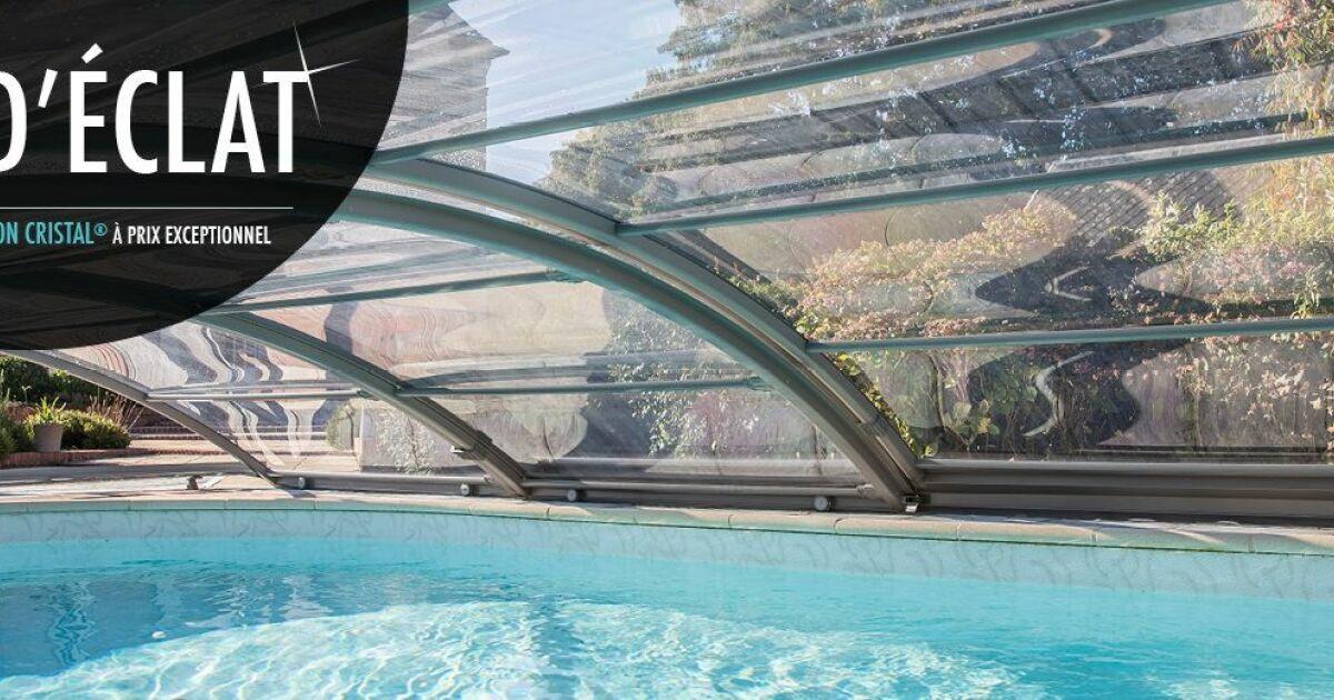 La finition cristal d abrisud prix r duit pour un abri vraiment transparent - Www abrisud com prix ...