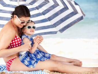 Coup de soleil chez bébé et l'enfant