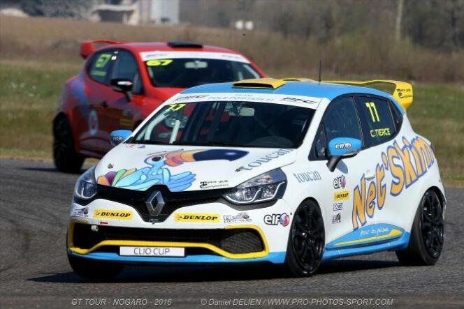 """Coupe de France Clio Cup<span class=""""normal italic petit"""">© Daniel Delien - www.pro-photos-sport-com</span>"""