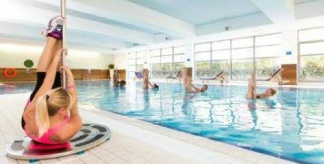 Cours d'aquapole au club Aspria en Belgique