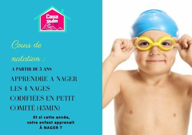 Cours de natation Casaswim