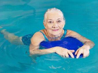 Cours de natation pour seniors