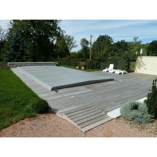 Couverture automatique pour piscine par euro piscine services for Couverture piscine