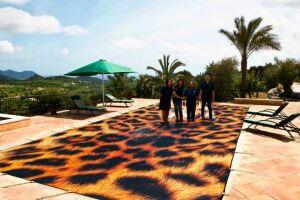 """Couverture de piscine personnalisée motif """"animal"""" Artpoolcover"""