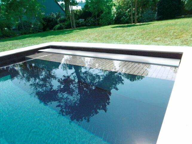 Couverture de piscine Sofatec, modèle Mayotte