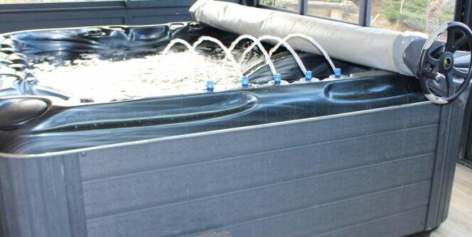 Couverture de spa Coverspa, par Poolco