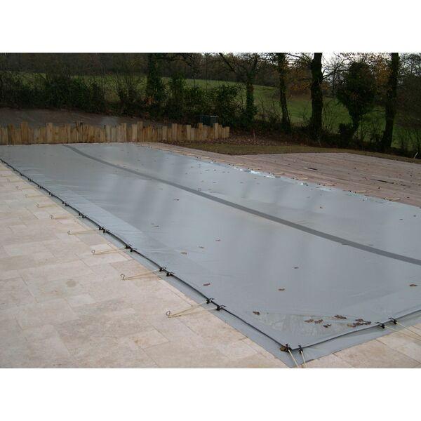 Etanch it d une b che de piscine for Construction piscine hiver