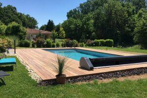 Pose de couverture de piscine Oré - Sphère Confort