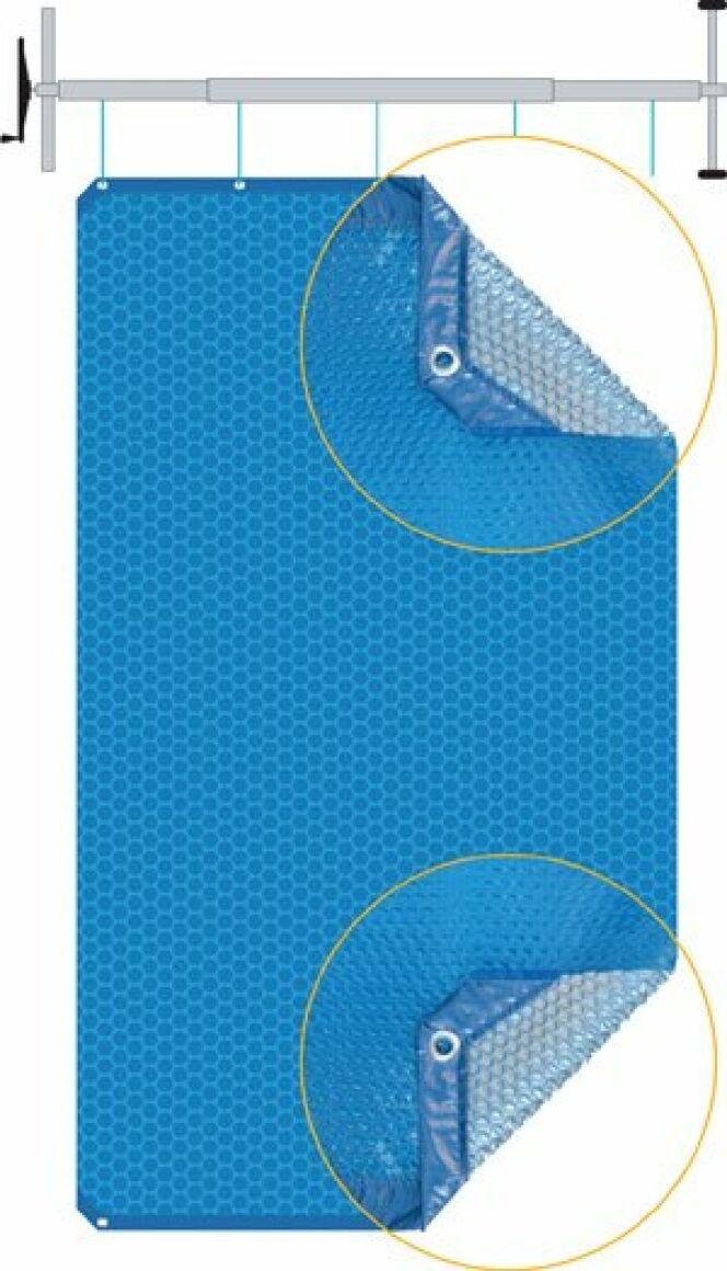 Couverture à bulles isothermique Duo