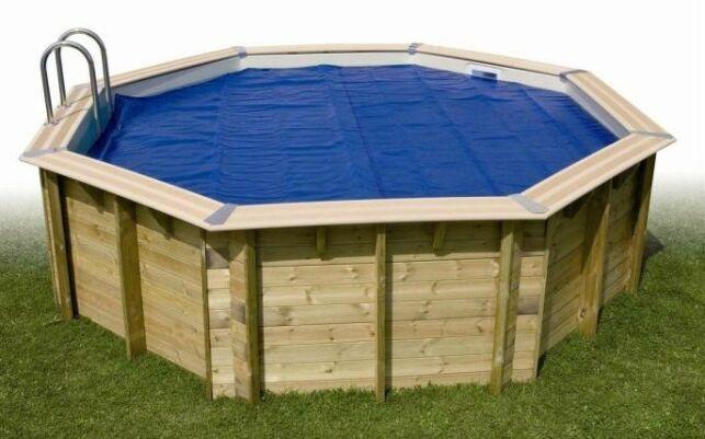 Couvertures et bâches pour piscine en bois