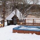 Couvertures et bâches pour spa de nage