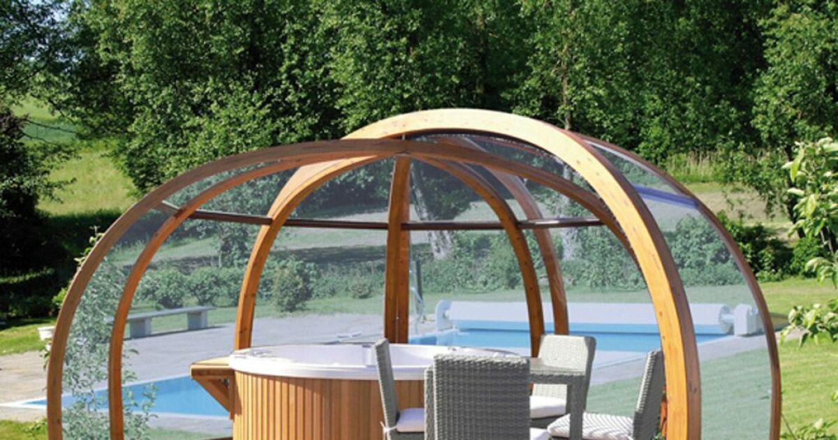 L abri de spa automatique for Simulateur piscine