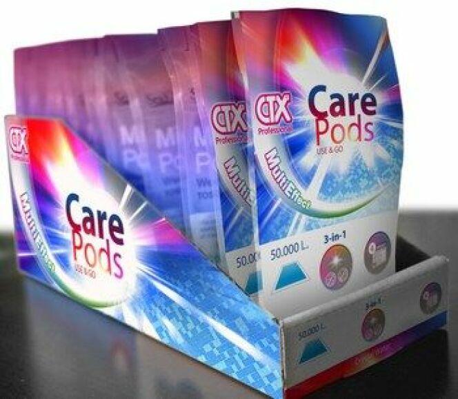 """CTX propose ses Care Pods, pour simplifier le traitement de l'eau de la piscine<span class=""""normal italic petit"""">© CTX - elpiscinas.com</span>"""