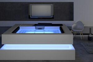 Le spa Carré Bleu : le cube