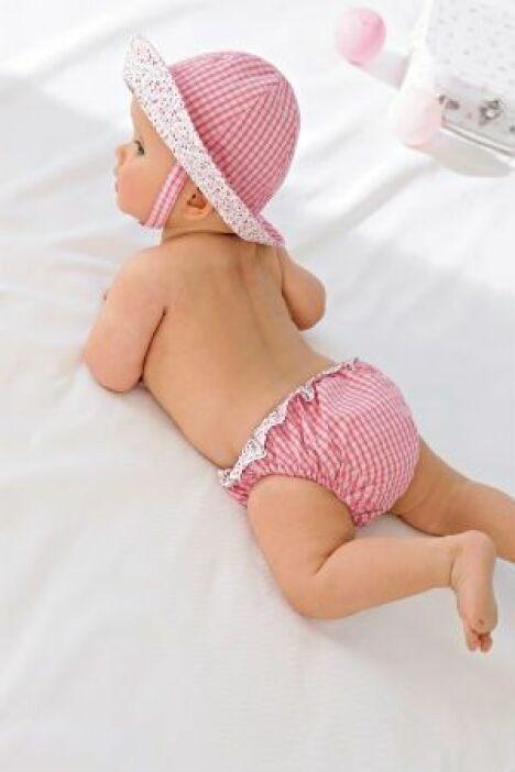 """Culotte de bain bébé fille<span class=""""normal italic petit"""">© Cyrillus</span>"""