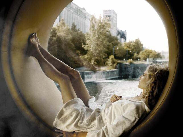 De nombreux espaces de relaxation au spa Bota Bota