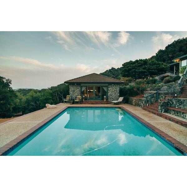 D coration autour d une piscine quelques id es - Deco autour piscine ...