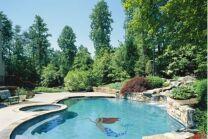 Décors et piscine